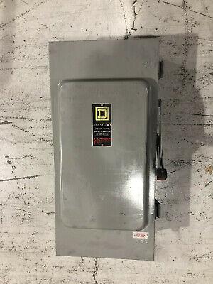 Square D Safety Switch Disconnect Hu364awk 200 Amp 600 Volt Non Fusible Nema 3r
