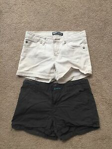 2 pairs of Girls shorts