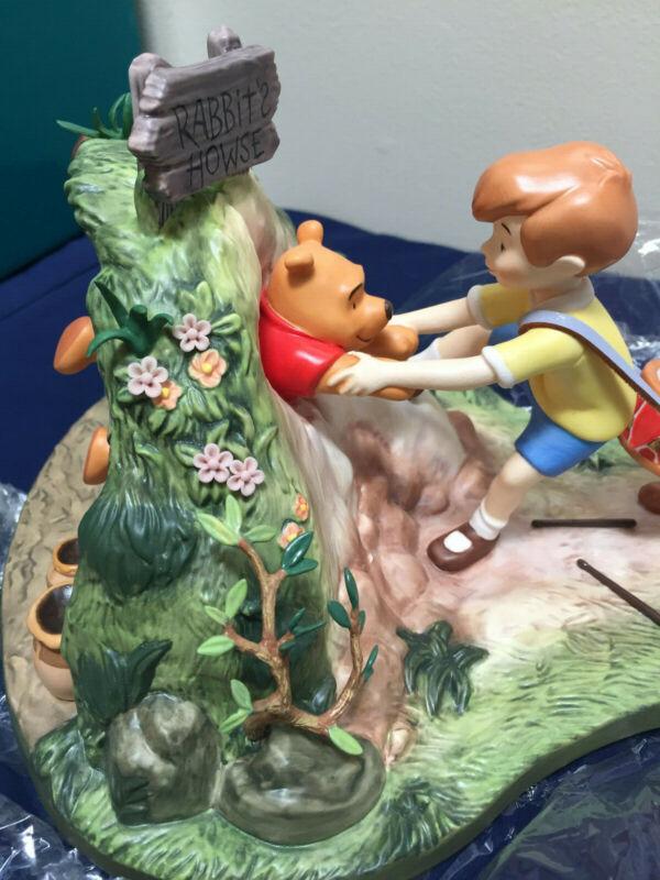 WDCC Disney Winnie the Pooh Hooray Hooray for Pooh Will Soon Be Free NIB w/ COA