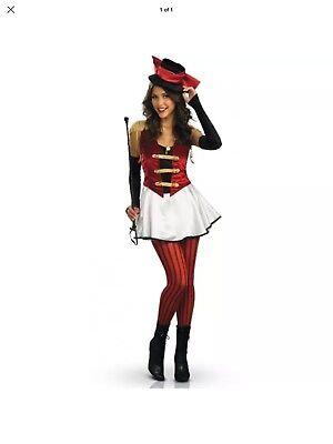 Ringmistress Ringmaster Clown Adult Deluxe Womens Costume by Rubies - Women Ringmaster Costume