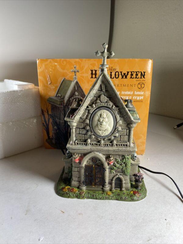 Dept 56 Halloween The Travis Louie Walter & Larry