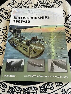New Vanguard: British Airships 1905-30 155 by Ian Castle (2009, Paperback)