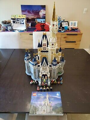 LEGO Disney Princess The Disney Castle (71040) 100% COMPLETE w/ extra minifigs
