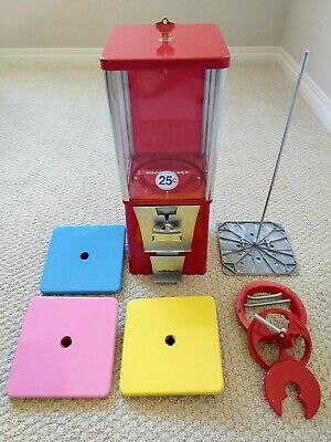 EAGLE Bulk Vending Machine Gumball Candy Toy Nut. 2-YEARS OLD. 1 Wheel & 1 Lid.