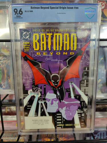 BATMAN BEYOND SPECIAL ORIGIN ISSUE (1999) - CBCS GRADE 9.6 - 1ST PRINTING!