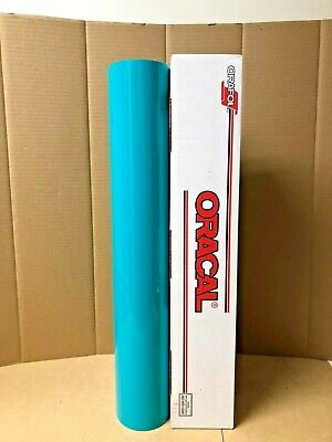 Oracal 651 1 Roll 24 X 10yd 30ft Turquoise 054 Gloss Sign Vinyl
