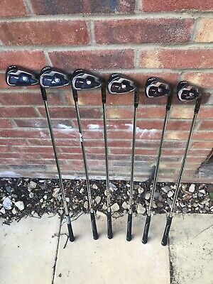 2014 Wilson Staff C100 Golf Irons Set / 5 - PW / CL100 Regular Flex Steel Shaft