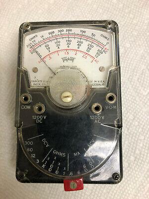 Vintage Triplett Model 310 Vom Multimeter