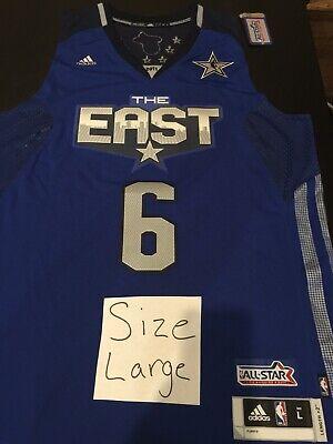 LEBRON JAMES 2011 NBA ALL-STAR SWINGMAN JERSEY L BRAND NEW TAGS 100% AUTHENTIC