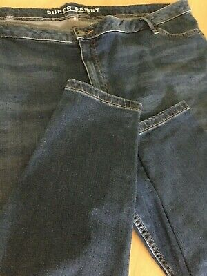 Ladies M&S super skinny jeans size 26 BNWOT 29