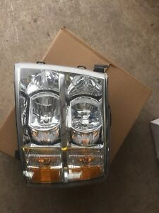 Silverado headlight