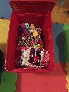 Tub of clothing!