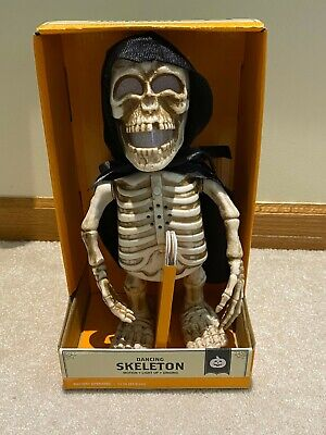 Halloween Animated Musical Light Up Dancing Skeleton I'm Scary & I Know It *New*