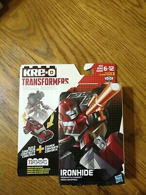 IRONHIDE BATTLE CHANGER Transformers KRE-O kreo kreon G1 iron hide Free Shipping