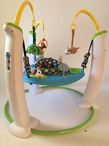 Baby Excersaucer 1 yr old like NEW Cambridge Kitchener Area image 2