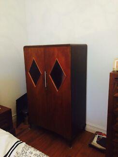 Timber Art Deco wardrobe  Marrickville Marrickville Area Preview