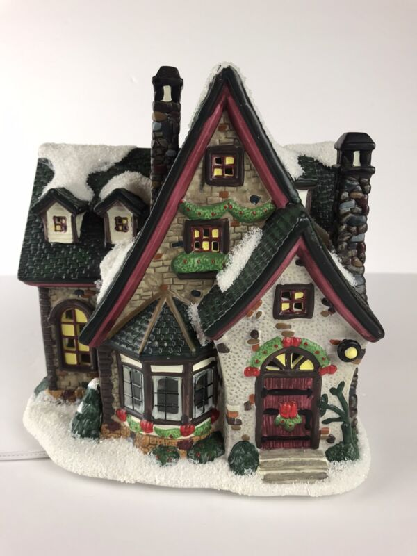St Nicholas Square Grandma's House The Village Collection Christmas 2003 w/ Box