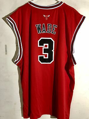 Adidas NBA Jersey Chicago Bulls Dwayne Wade Red Alt sz 3X, used for sale  Shipping to Canada