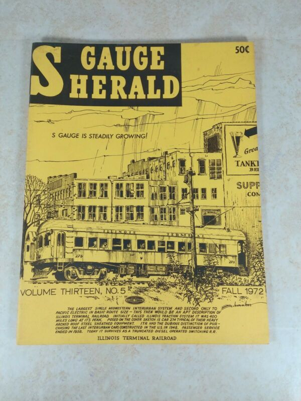 S Gauge Herald 1972 Fall Canadian Pacific, Trolley Fare