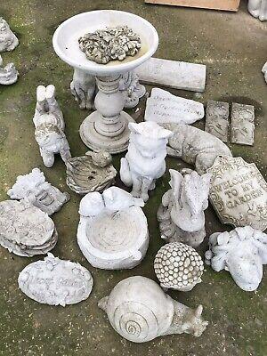 Stone Garden Ornaments Job Lot