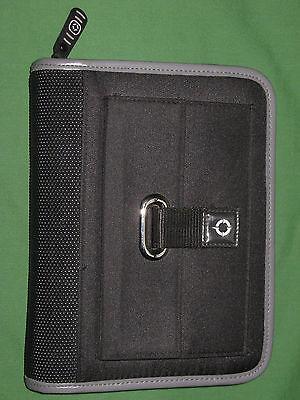 Compact 1.0 Black Gray Nylon Franklin Covey Planner Binder Sport 3558