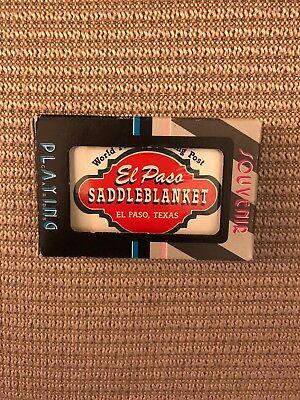 El Paso Saddleblanket World Famous Trading Post - Deck Playing Cards NIP (El Paso Trading Post)