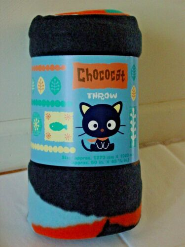 New Sanrio Tapestry ChocoCat Fleece Throw