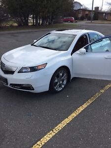 2012 Acura TL with Elite package, warranty Feb 2019