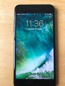 Iphone 7 +32gb Noir mat  Unlock