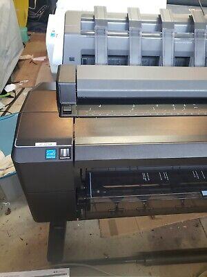 Wide Format Printer Plottercopier Scanner Hp Color Designjet T2500