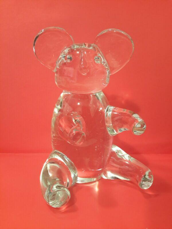 🎁 Vintage Murano Glass Koala Bear Signed Licio Zanetti 1960s Italy MCM Retro 🎁