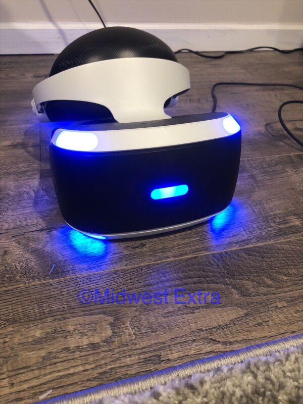 Sony PlayStation VR PS4 Virtual Reality Headset ONLY CUH-ZVR2 PSVR Goggles PS v2