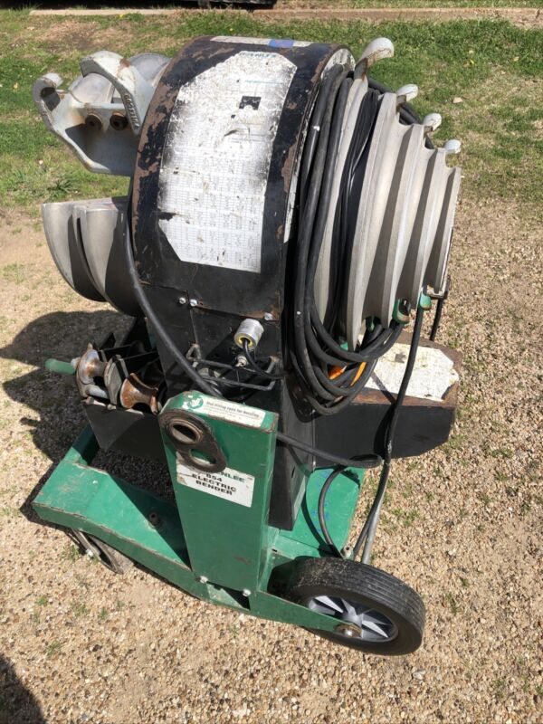 """GREENLEE 854 QUAD SMART 1/2-2"""" Conduit Bender, Freight or Local Pickup DFW 75032"""