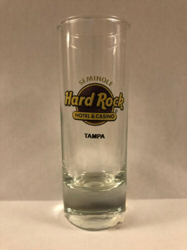 Hard Rock Cafe Tampa Hotel & Casino Shot Glass