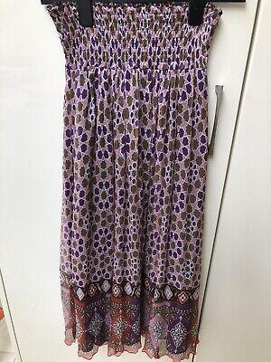 iBlues Silk Skirt Size 8