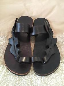 Leather sandals - brand new! Size 39 Mount Hawthorn Vincent Area Preview