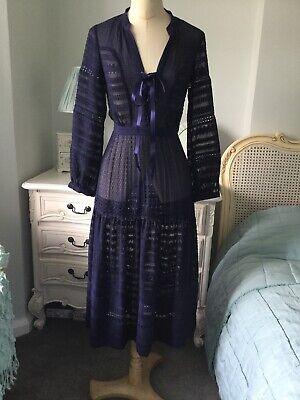 Karen Millen dark blue dress.Size 6.