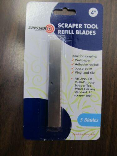 Zinsser 98015 4-Inch Scraper Refill Blades by Zinsser & Co   NEW