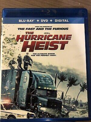 The Hurricane Heist (Blu-ray/DVD, 2018, 2-Disc + Digital copy)