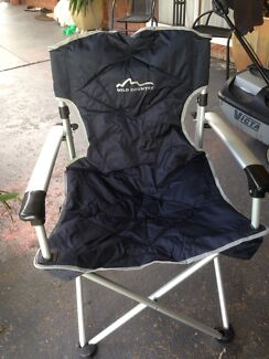 Brand new camping chair and camping pantry