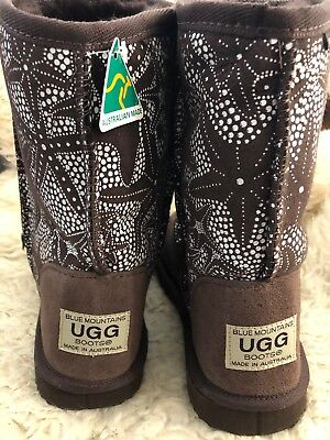 Clearance Uggs (STOCK CLEARANCE - 'Blue Mountains' -  Authentic Ugg - chocolate - US 6)
