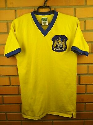 bc55e3e8c Leeds United jersey medium retro replica shirt soccer football Score Draw