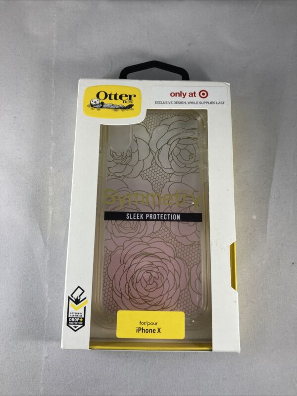 OTTERBOX SYMMETRY SERIES IPHONE X TWO-TONE FLORAL (77-58561)