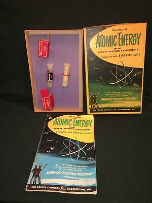VINTAGE ATOMIC ENERGY KIT NO. 100 MADE BY PORTER CHEMICAL CO.