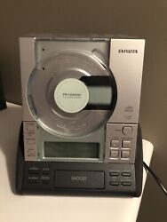 AIWA  CD Stereo Radio Receiver Dual Alarm Clock Digital FR-CD3000UC