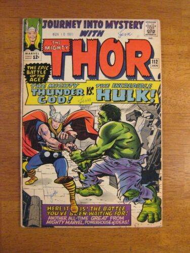 JOURNEY INTO MYSTERY/THOR #112 Key Book! (FN/VF, almost VF-) Colorful & Glossy!
