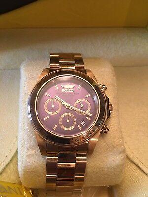 Invicta  Speedway  Wrist Watch Gold#312