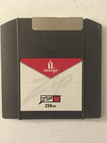 Iomega Zip 250 disk MS-DOS Fat16 format, Macintosh compatible