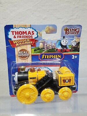 Thomas and Friends Wooden railway Stephen Steam engine train New in sealed Box!