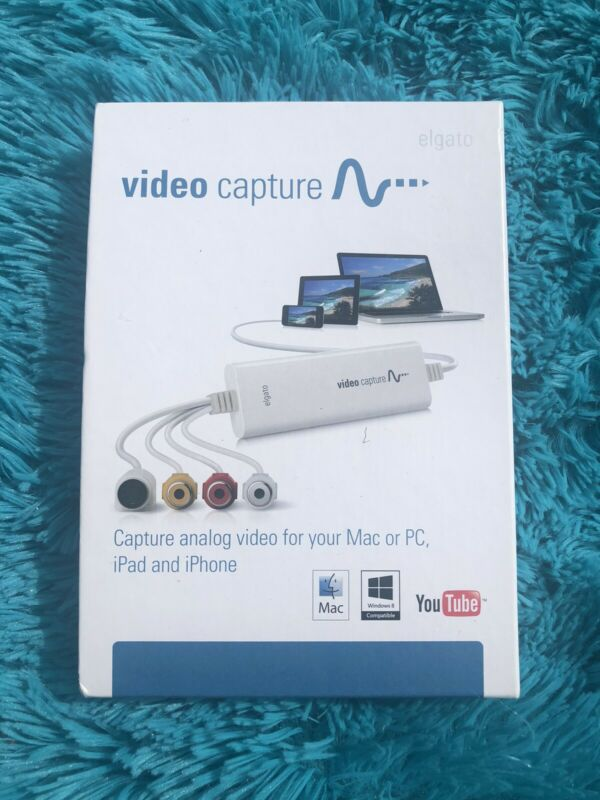 Elgato USB Analog Video Digitize Capture Device (USB 2.0) for PC MAC -- USED